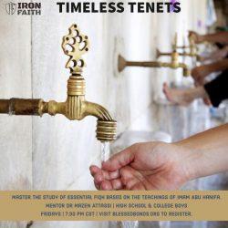 Timeless Tenets